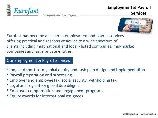 Eurofast The Company S Profile