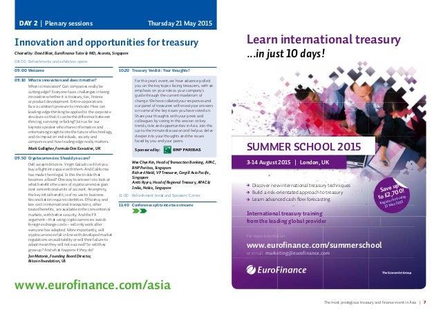 EuroFinance Singapore 2015
