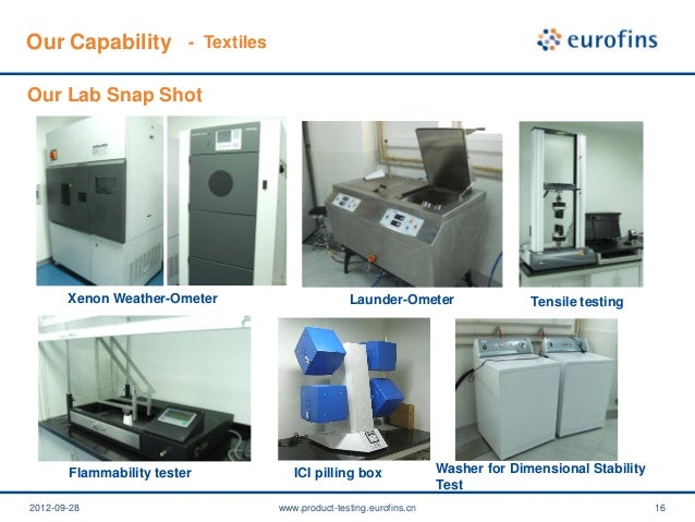 Eurofins product testing