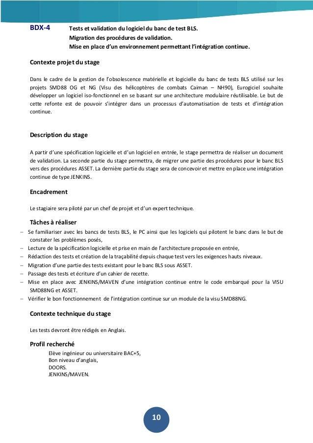 BDX-4  Tests et validation du logiciel du banc de test BLS. Migration des procédures de validation. Mise en place d'un env...