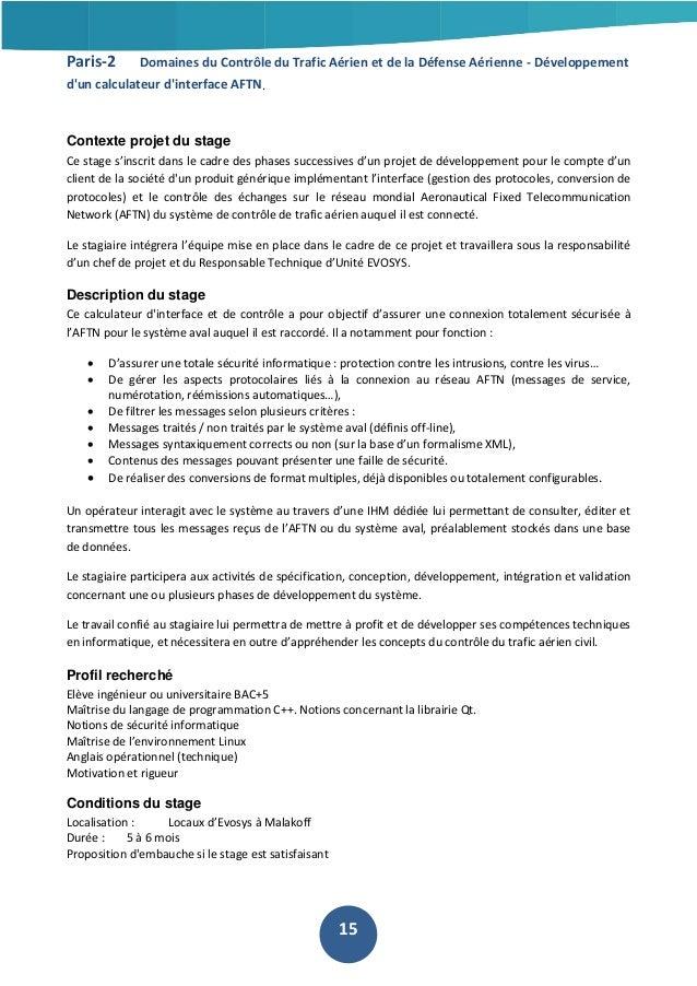 Paris-2  Domaines du Contrôle du Trafic Aérien et de la Défense Aérienne - Développement  d'un calculateur d'interface AFT...