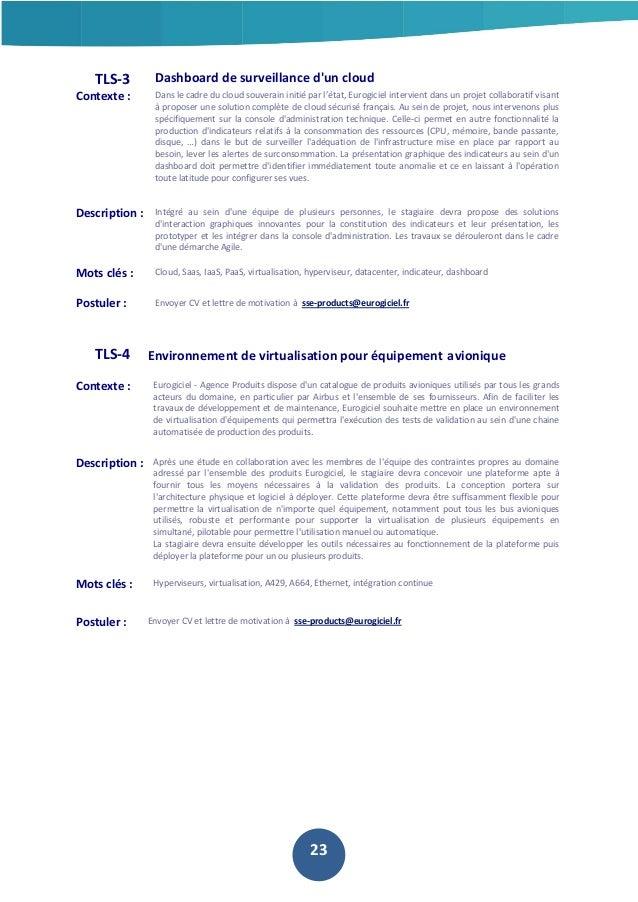 TLS-3  Dashboard de surveillance d'un cloud  Contexte :  Dans le cadre du cloud souverain initié par l'état, Eurogiciel in...