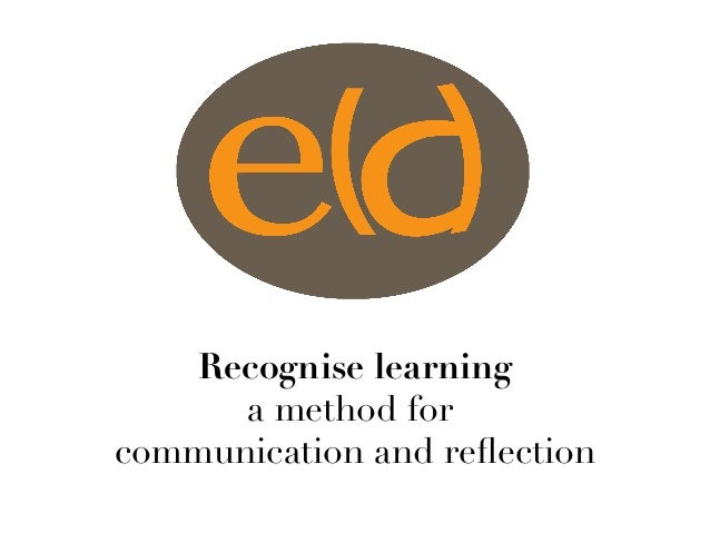 Recognise learning