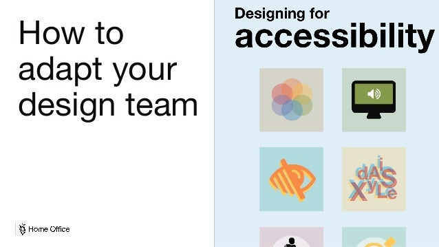 Digital, Data and Technology How to adapt your design team