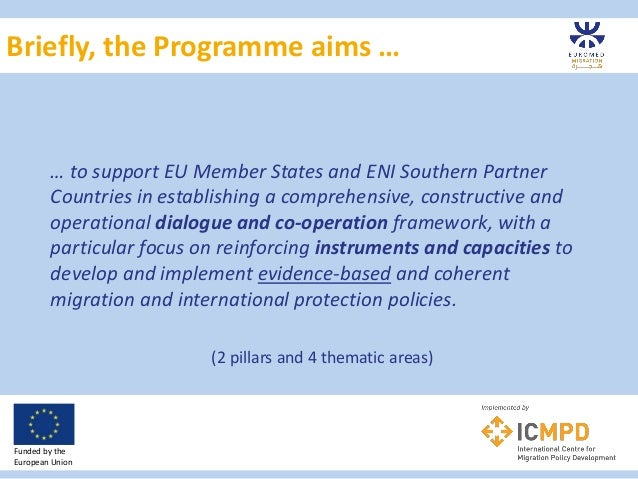 EUROMED Migration IV: Approaches & possibilities for future collaboration Slide 3