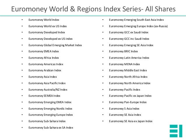 Euromoney indices - Third party Index Administraiton and Calculation …