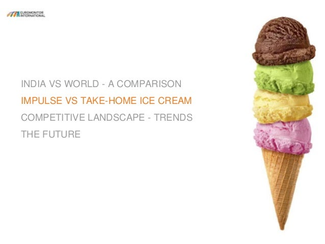 Indian ice cream industry