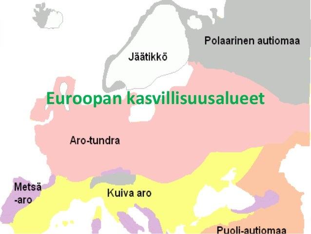 Euroopan Kasvillisuusalueet