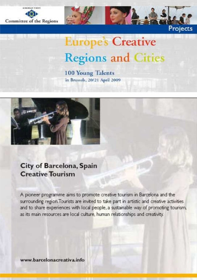 Europe's creative Regiona and cities