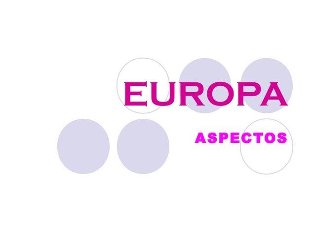 EUROPAASPECTOS