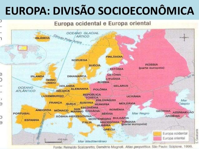 Resultado de imagem para europa oriental e ocidental