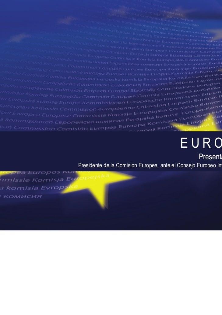 COMISIÓN EUROPEA                                           EUROPA 2020                                                   P...