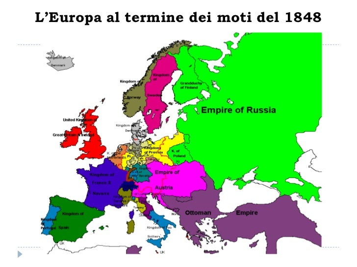 Cartina Europa 1860.Dall Eta Napoleonica Alle Monarchie Borghesi Europee 1796