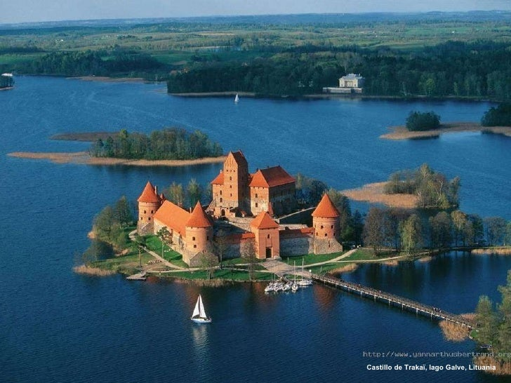 Castillo de Trakaï, lago Galve, Lituania