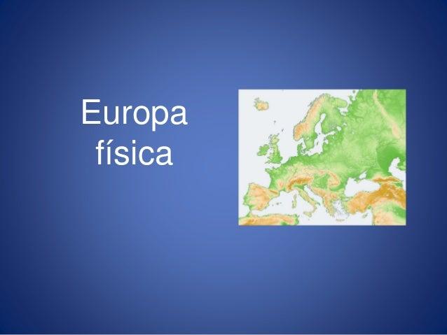 Europa física