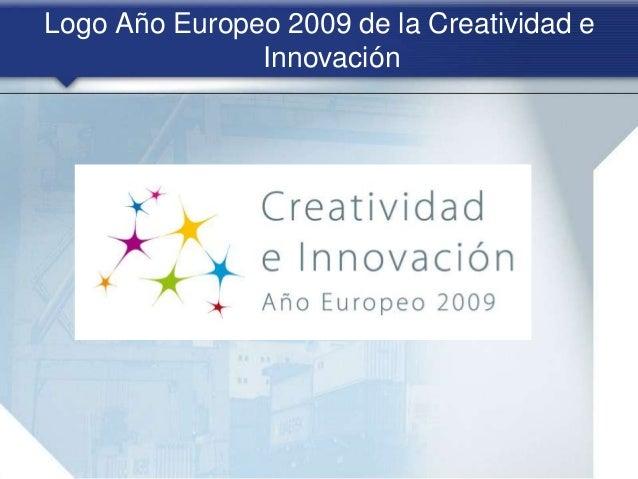 Logo Año Europeo 2009 de la Creatividad e Innovación