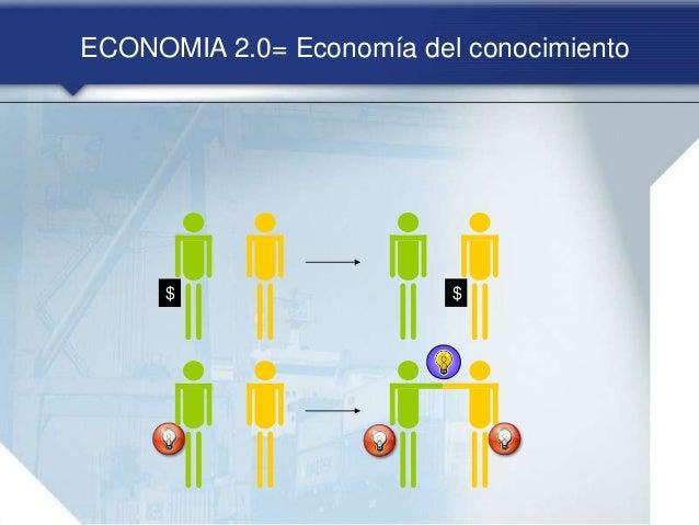 ECONOMIA 2.0= Economía del conocimiento $ $