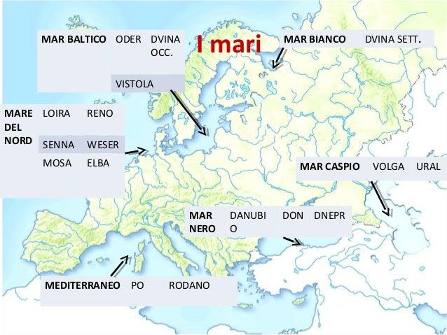 Cartina Europa Fisica Con Fiumi.Europa Fisica Introduzione