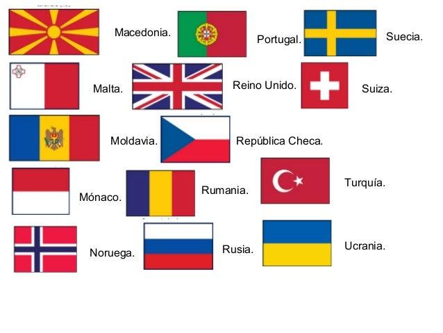 Europa Paises Capitales Banderas 638 Cb Romania Lituania