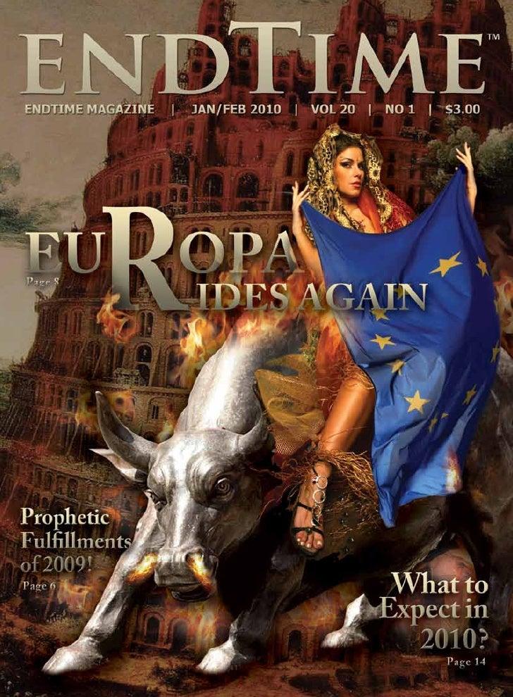 Contents                                   6   Prophetic Fulfillments of 2009                                             ...