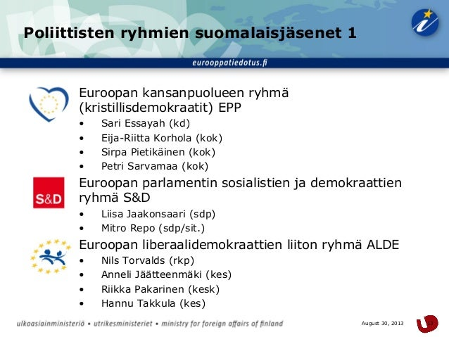 essayah europarlamenttivaalit