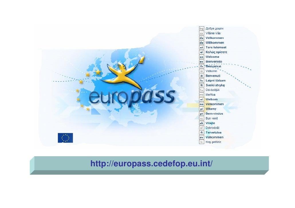http://europass.cedefop.eu.int/
