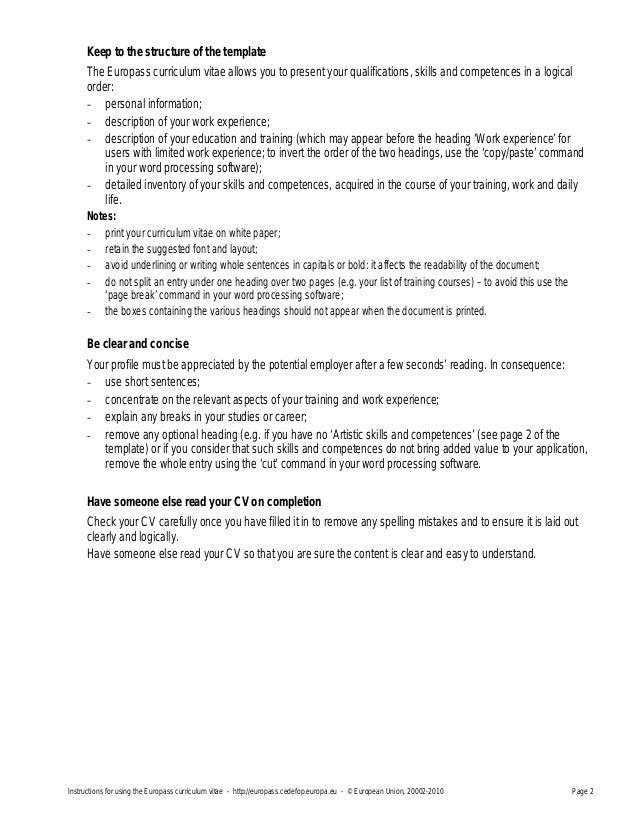Personal narrative essay instructions