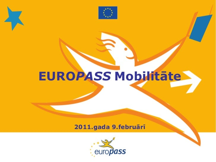 EUROPASS Mobilitāte    2011.gada 9.februārī