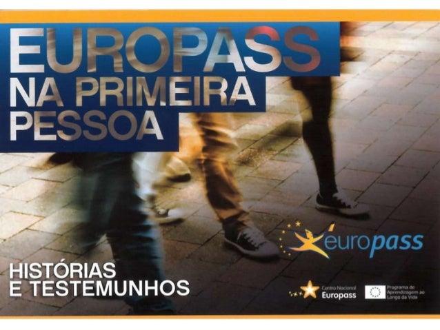 Europass na 1ª pessoa | Histórias e Testemunhos