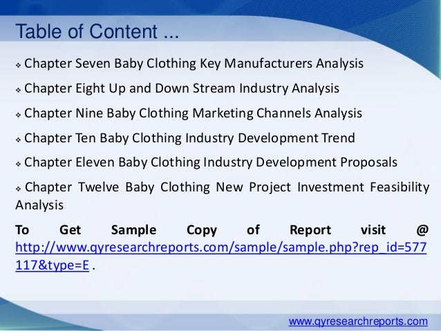 Europe Baby Clothing Market Industry Analysis Research Growth Trends Demand And Overview 638 Cb Garment Comprehensive Study