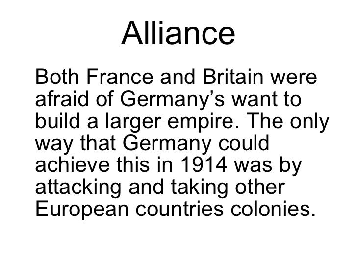 """cause of wwi european alliances Nationalism one of the main causes of world war i (otherwise known as the great war) was the growing force of nationalism nationalism (as of dictionarycom) is """"a sentiment based on common cultural characteristics that binds a population and often produces a policy of national independence or separatism."""