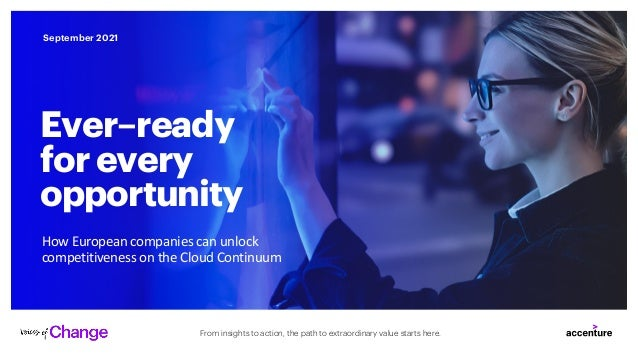 From insights to action, the path to extraordinary value starts here. September 2021 How European companies can unlock com...