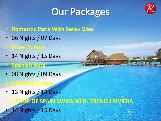 Travel erupe packages