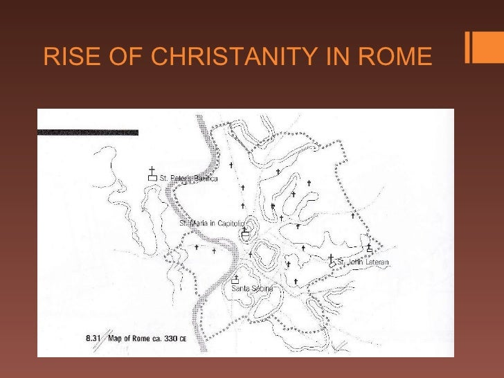 RISE OF CHRISTANITY IN ROME