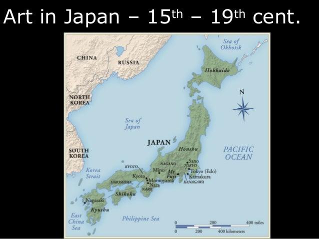 Europe Japanese Art - Japan map 1900
