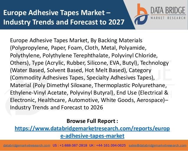 europe adhesive tapes market 1 638