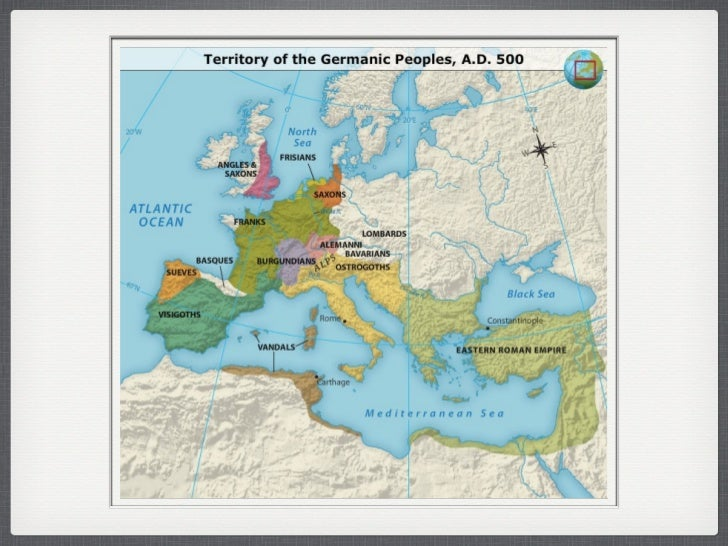 Europe After The Fall Of The Western Roman Empire