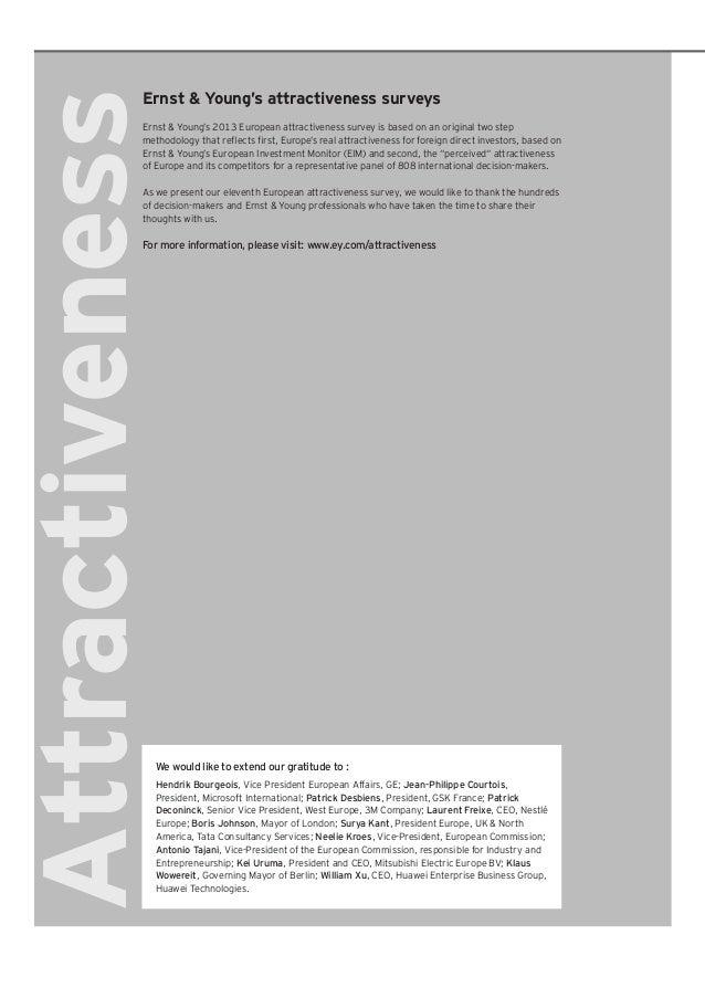 European attractiveness-survey-2013 Slide 2