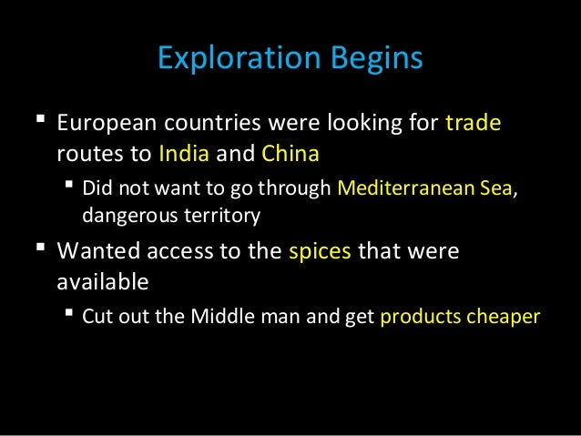 The World Made New Why The Age Of Exploration Happened: European Exploration-and-colonization-2014