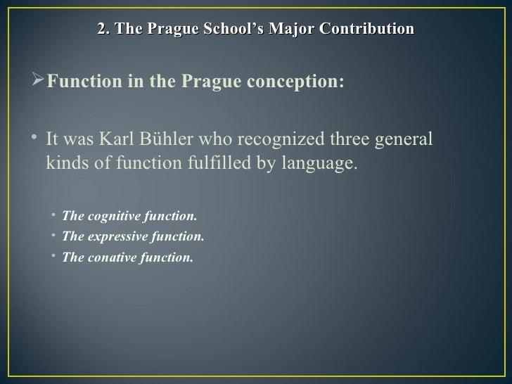 Dissertation the contributions of prague school