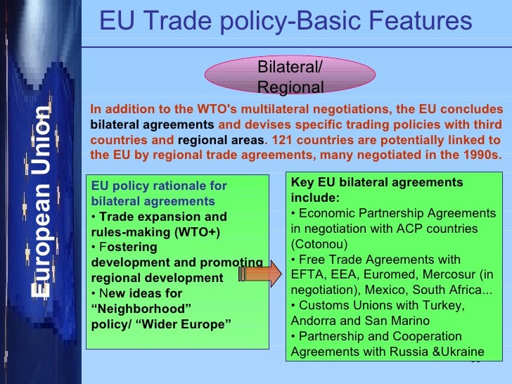 bilateral or multilateral international trade agreement with eu economics essay Law essay writing bilateral or multilateral international trade economics essay  the european union was established in 1993 by the menace of maastricht and was .