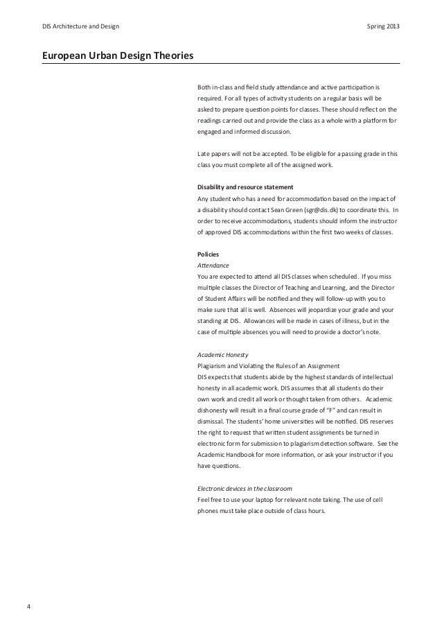 Urban design theory - Homework Example