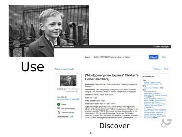 Use  Discover 6