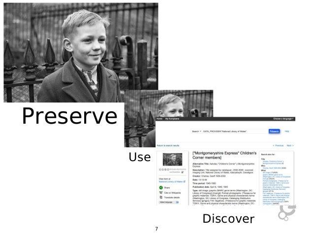 Preserve Use  Discover 7