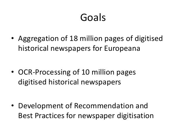 Europeana Newspapers Transcribathon Slide 3