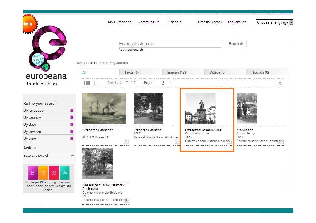 Europeana digitale bibliothek europas fenster zur welt for Fenster zur welt