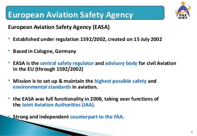 european aviation safety agency easa eu regulation