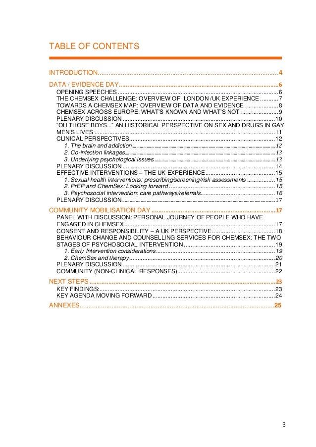 European ChemSex Forum Report Slide 3