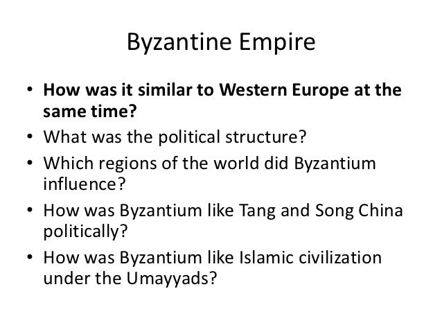 political structure of the byzantine empire Political structure of the byzantine empire the byzantine empire, in western asia and southeastern europe, expanded into eastern europethe byzantine empire, with territory in the balkans, the middle east, and the eastern mediterranean, maintained very high levels of political, economic, and cultural life between 500 and 1450 ce.