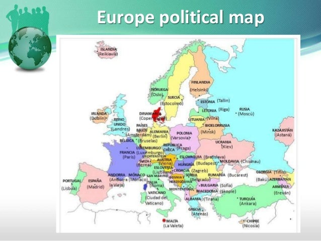 European countries and capitals